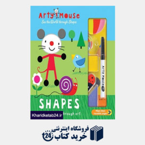 کتاب Arty Mouse Shapes