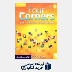 کتاب (Four Corners 1 (SB+WB+CD