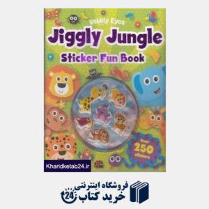 کتاب (Jiggly Jungle Sticker Fun Book (Wobbly Eyes