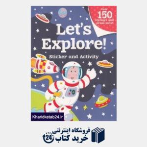 کتاب Lets Explore Sticker And Activity