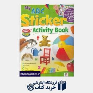 کتاب (My A B C (Sticker Activity Book