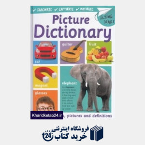 کتاب Picture Dictionary Over 750 Words and Definitions