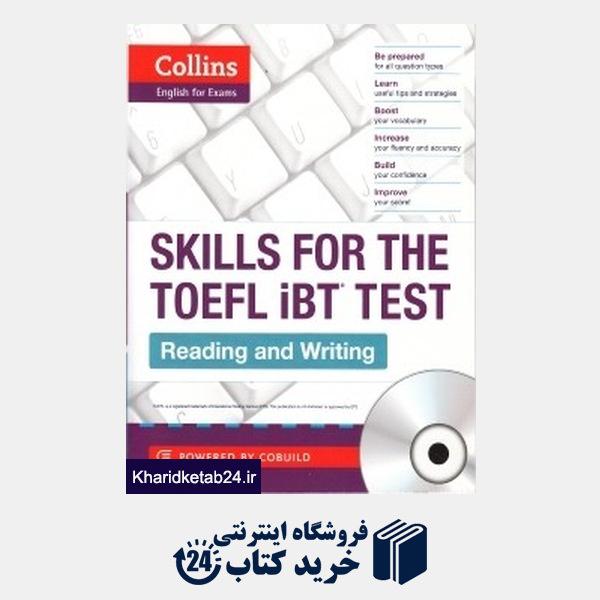 کتاب Skills for the Toefl iBT Test CD