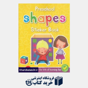 کتاب preschool Shapes Sticker Book