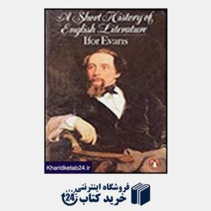 کتاب A Short History of English Literature-Evans